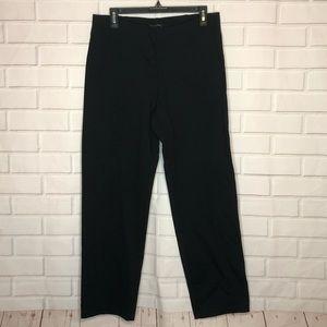 Eileen Fisher Black Straight Leg Pointe Pants